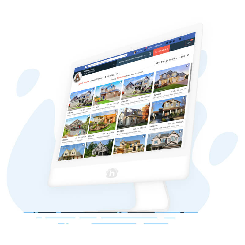 Grid View of Agent's Listings