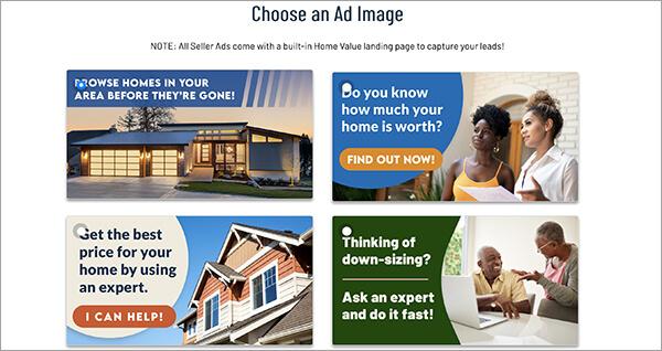Facebook Ad Builder for seller leads for Real Estate