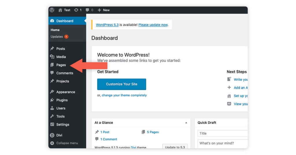 Add a Home Search Page to your WordPress site