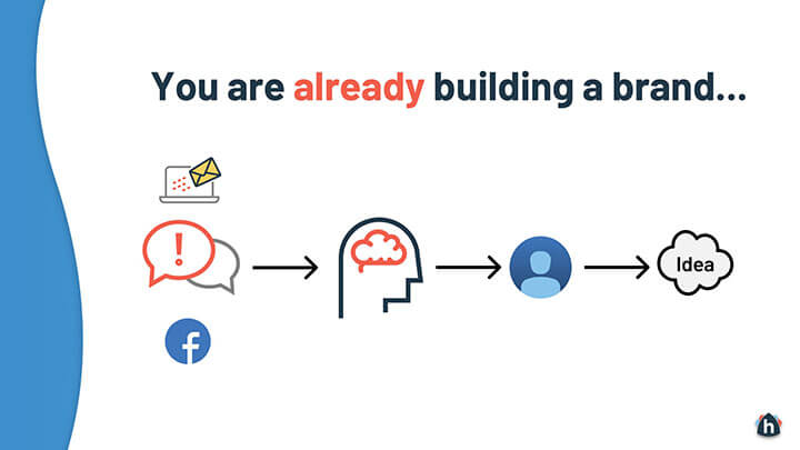 You are already building a real estate brand