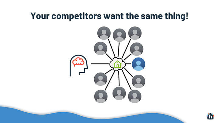 real estate competitors with no outstanding features