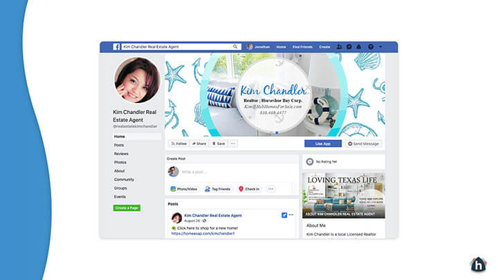 Facebook business page 2