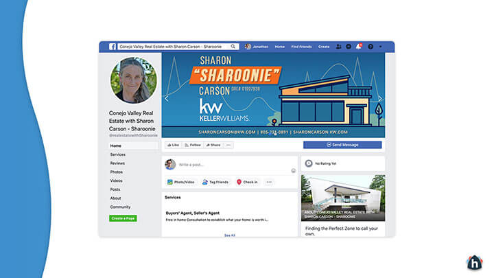 Facebook business page 3