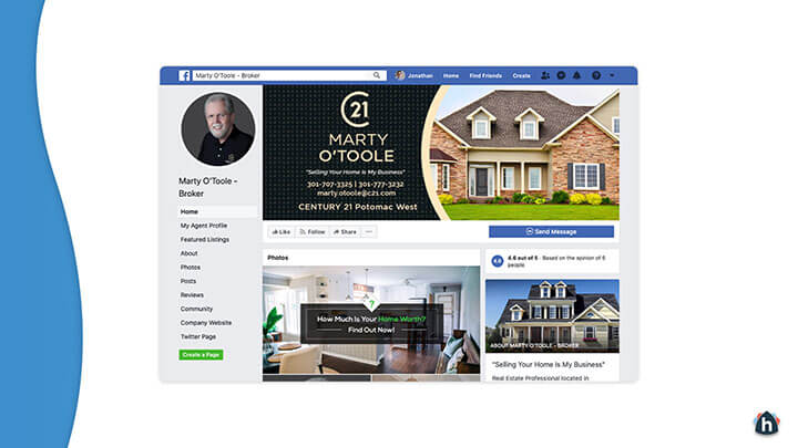 Facebook business page 4