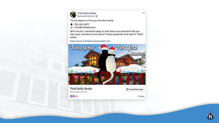 Example Facebook Ad for Real Estate