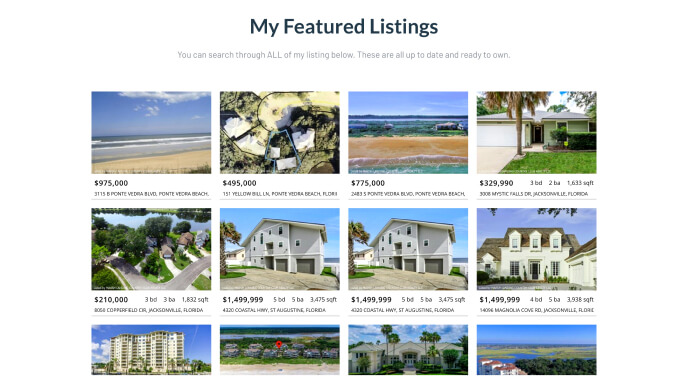 Free MLS Listings Tool for Real Estate Agents in Use