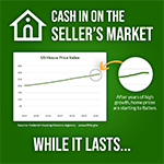 Promotional Facebook Post For Real Estate Agent About Sellers Market