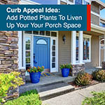 Promotional Facebook Post For Real Estate Agent About Curb Appeal