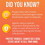 Promotional Facebook Post For Real Estate Agent About Insurance