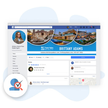 Page Create Facebook Page for Real estate