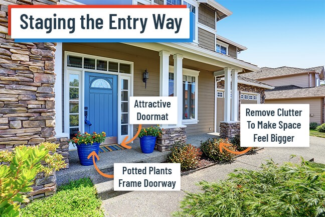Staging a Home Entryway