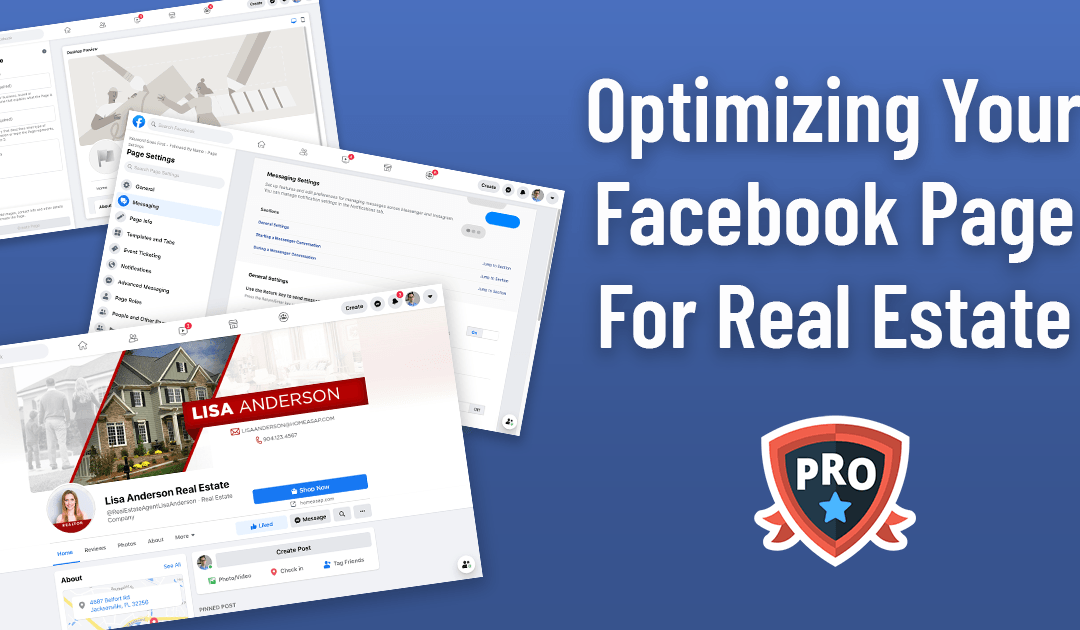 Creating and Optimizing a Facebook Page for a Real Estate Agent