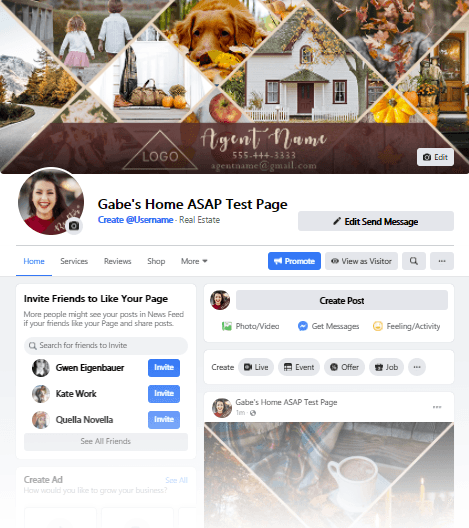 Real Estate Facebook Page Remodel