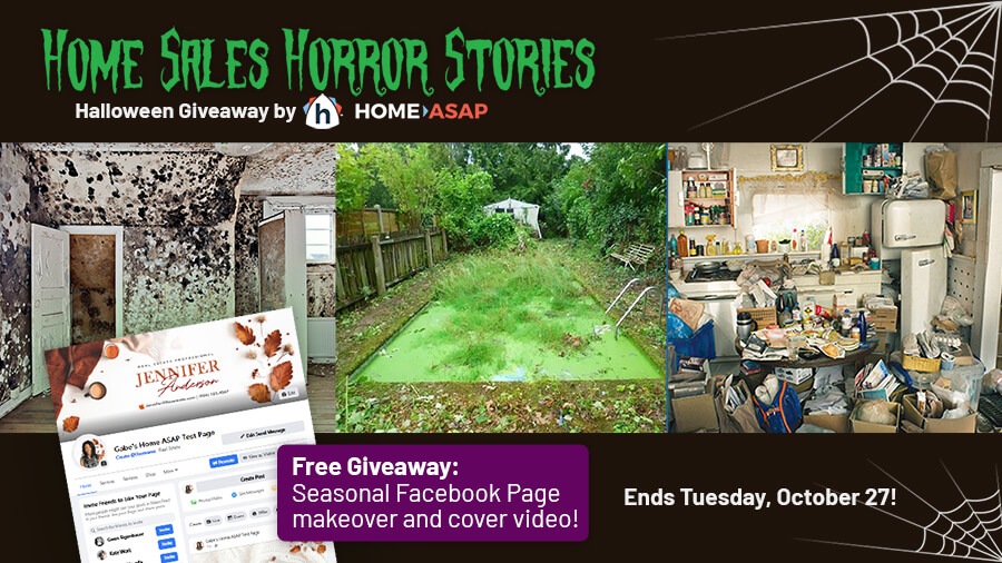 Home Sales Horror Stories Halloween Giveaway