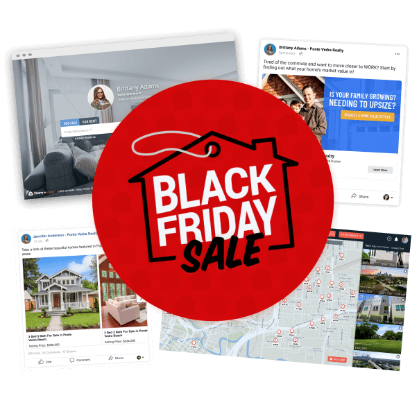 Black Friday Sale on Real Estate Marketing Tools