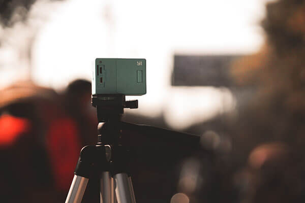Camera used for virtual tour