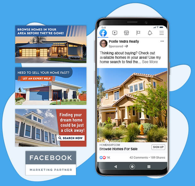 Real Estate Ad Examples for Facebook