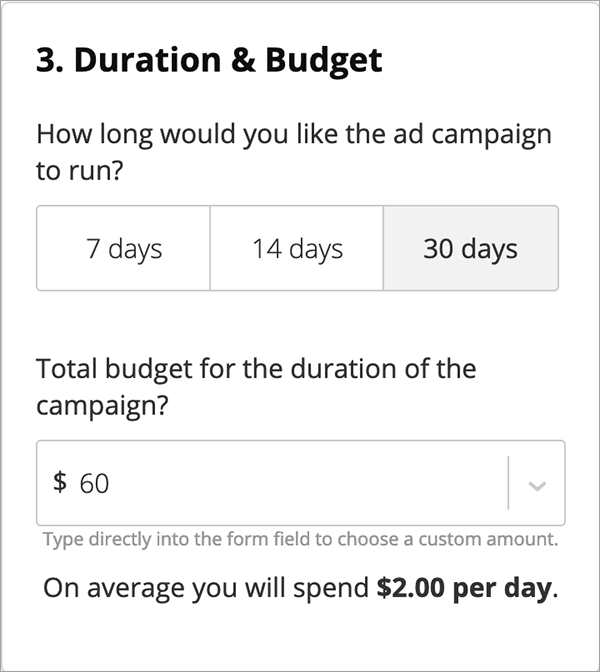 Real Estate Ad Budget